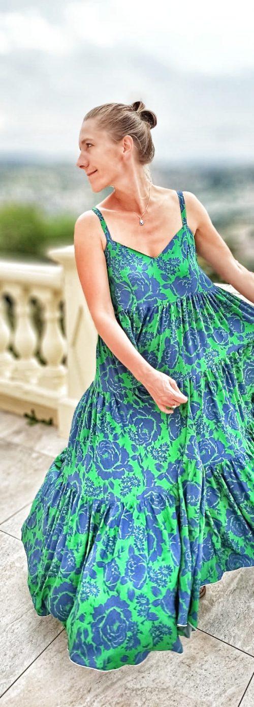 robe verte été pour femme