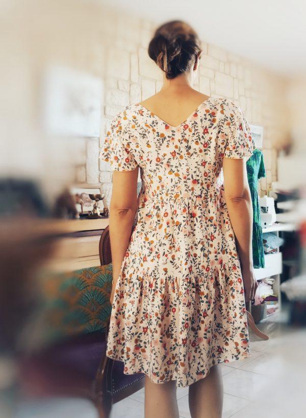 robe ete courte titalee fabrics femme