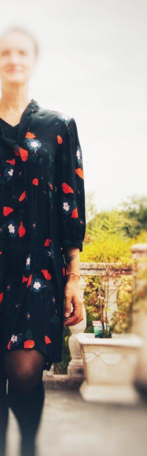 collection automne hiver femme robe courte noire